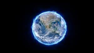 Terra é um campo magnético com energia negativa e positiva