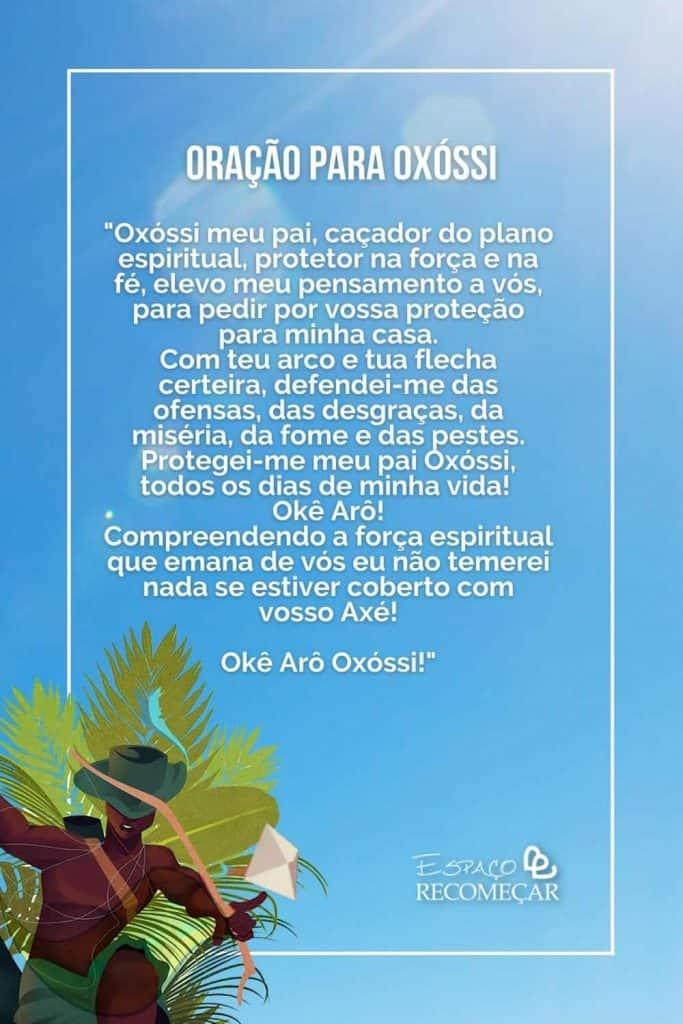oração para Oxóssi