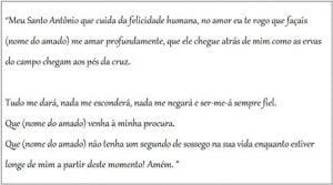 quero meu amor de volta oração
