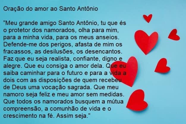 oração do amor a santo antônio